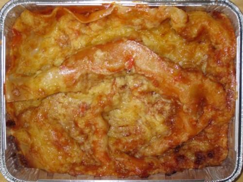 Lasagne mit vegetarischer Bolognese